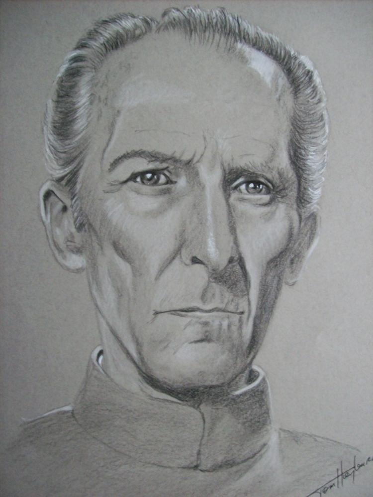 Peter Cushing by Tom-Heyburn